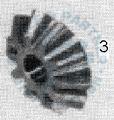 M25 Ausgleichkegelrad klein