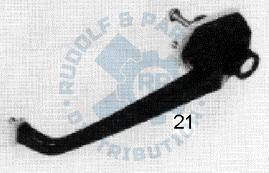 M25 Außentürgriff rechts, schwarz