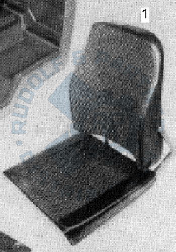 M25 Fahrersitz ohne Sitzfuß