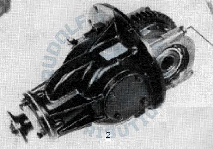 M25 Achsgetriebe kompl. mit Differentialsperre, generalüberholt, Austausch