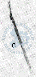 M25 Klemmprofil, rechts, vorn, unten