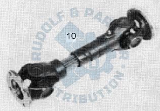 M25 Kurz-Zweigelenkwelle 300 lang, 4x2 mit KG, kurzer Radstand